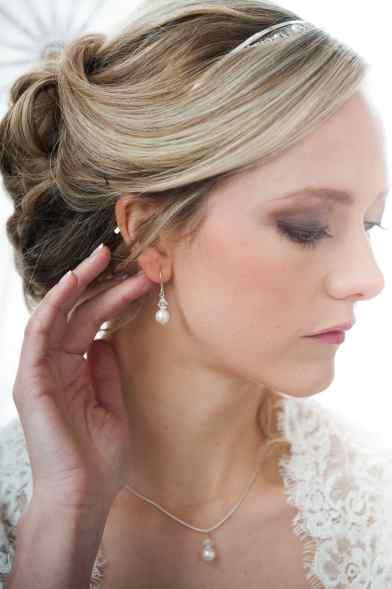 Sterling silver, Swarovski pearl, Swarovski crystal, bridal, wedding, bridesmaid, earrings, necklace, jewellery